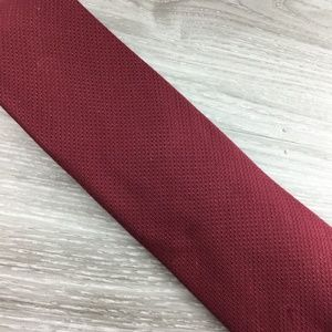Tommy Hilfiger Red Pattern Tie